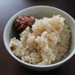 健康志向 おいしい玄米の炊き方~炊飯器
